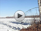 Ice-out on the Susitna River, two